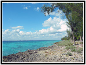 The crystal clear waters of the Bay of Pigs (25k image)