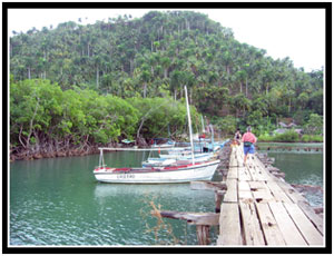 Gateway to Boca de Miel (25k image)