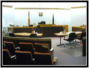Juneau's Courtroom B