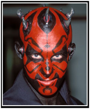 Arlo as Darth Maul