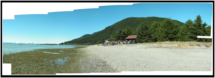 Eagle Beach Panorama