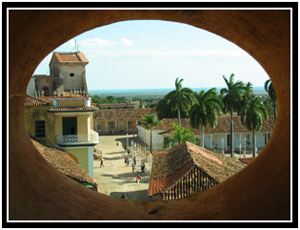 Tower window upon Trinidad (25k image)
