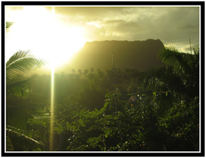 El Yunque, a landmark used by sailors since Columbus (25k image)