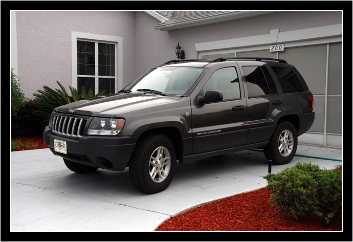 My new-to-me 2004 Jeep Grand Cherokee Laredo
