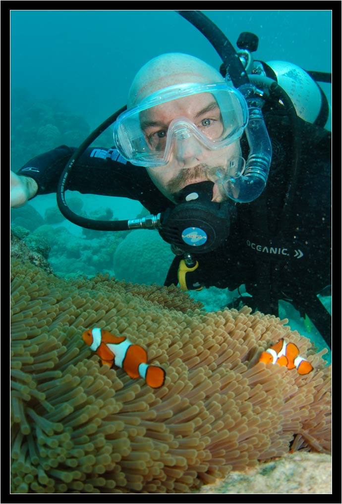 Professional Scubapix shot of me finding Nemo