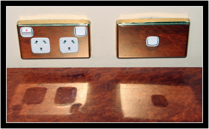 Power Outlets and Switches. The Devaluing of the American Dollar