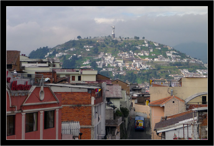 The Panacillo in Quito, Ecuador