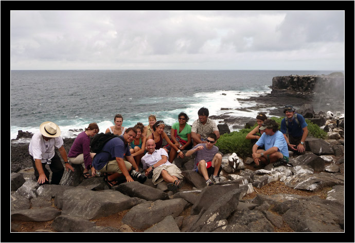 Our group from the Floreana, January 2010