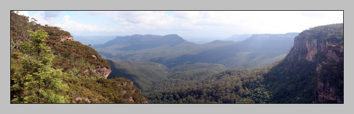 Jamison Valley Panorama