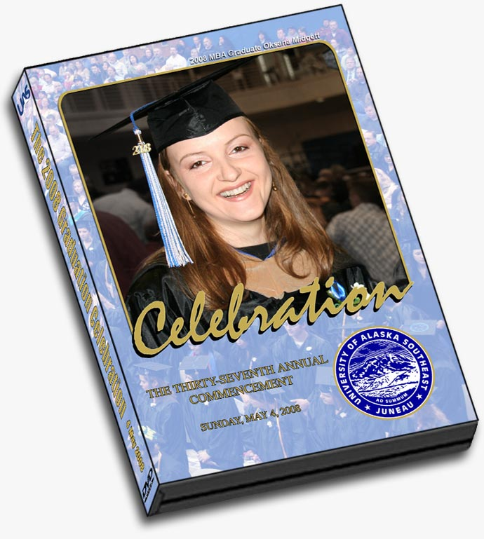 UAS 2008 Graduation DVD cover