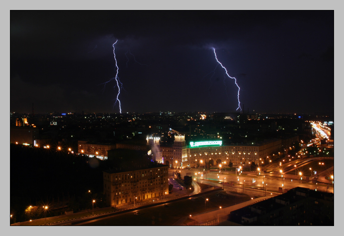 Moscow Thunderstorms