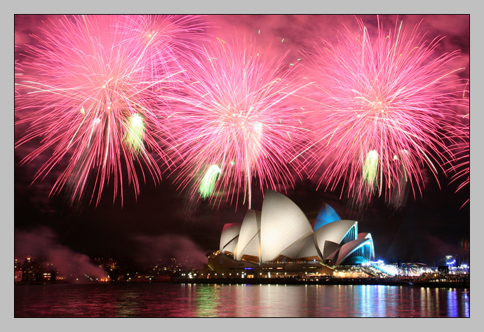 Sydeny Opera House, Australian Idol finale with fireworks