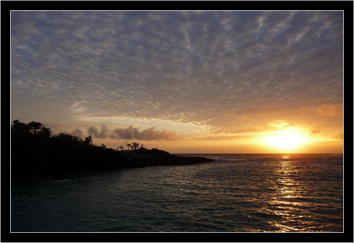 Sunrise in the Galapagos