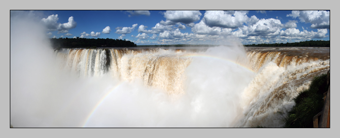The Devil's Throat, Panorama, Iguazú, Argentina